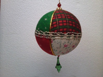 Esferas o Bolas Navideñas en Patchwork - Sencillo Paso a Paso