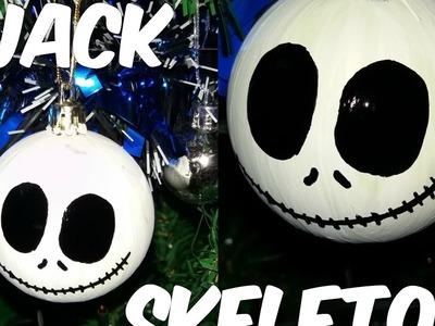 Haz Esferas De Jack Skeleton Para Tu Árbol