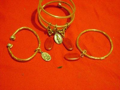 PULSERAS ----------bracelets resiclada