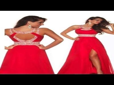 """Trazo del vestido de fiesta escote en espalda """"Peticion"""""""