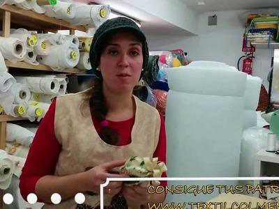TUTORIAL BOLA DE NAVIDAD DE TELA