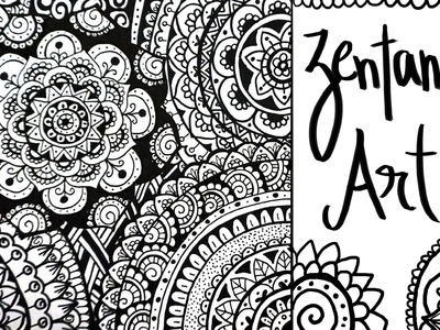 Zentangle Art 2: Cómo lo Hago