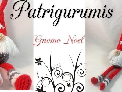 Amigurumi Gnomo Noel -  gnome
