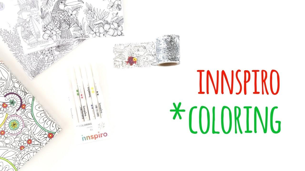 Colección *Coloring de Innspiro - HAUL Scrapbook