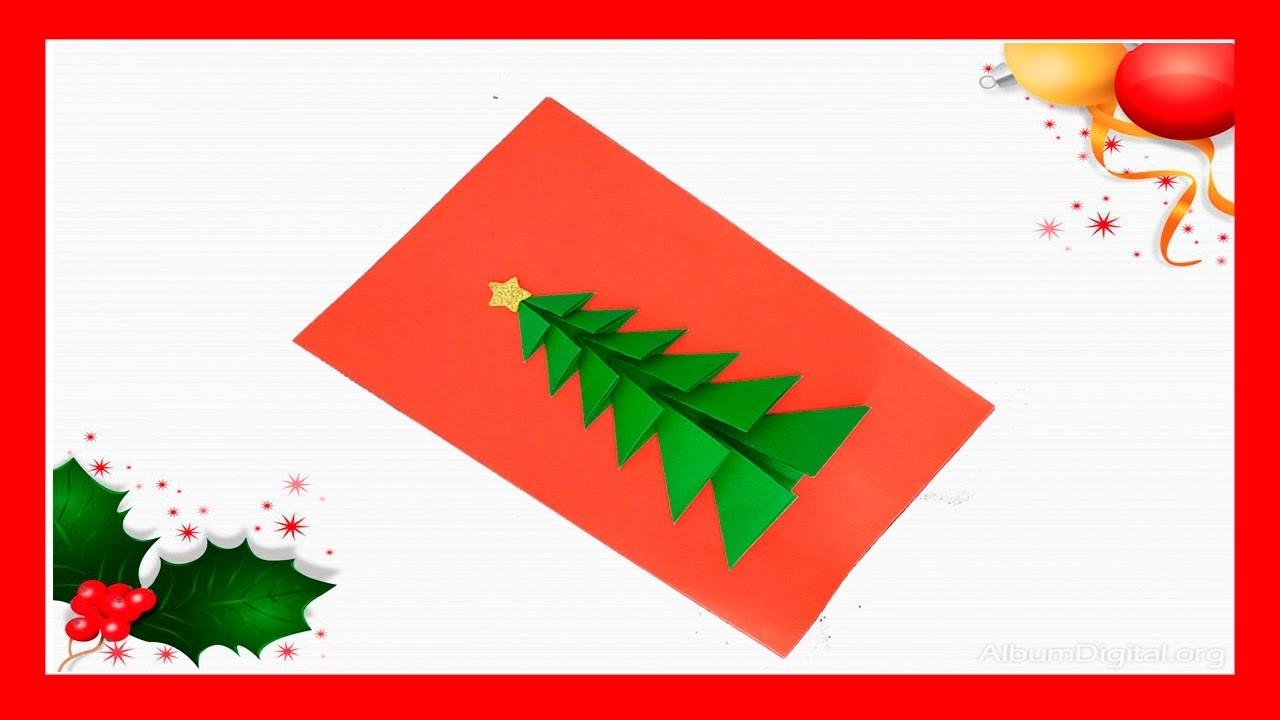 Como hacer tarjetas de navidad navide a - Postales navidenas para hacer ...