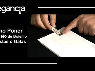 Cómo Poner el Pañuelo de Bolsillo en Fiestas o Galas - Bere Casillas (Elegancia 2.0)
