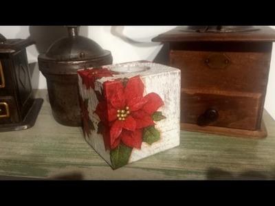 Decoupage con madera reciclada de palet