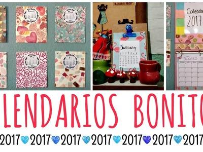 DIY! Calendarios 2017 ❤ Originales y Fáciles | Ame Mayén