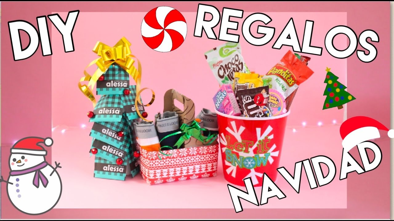 Diy regalos para navidad ideas rapidos y f ciles - Regalos faciles y rapidos ...