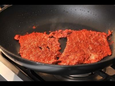 La mejor receta de  CARNE ENCHILADA (deliciosa) - Jenny salas