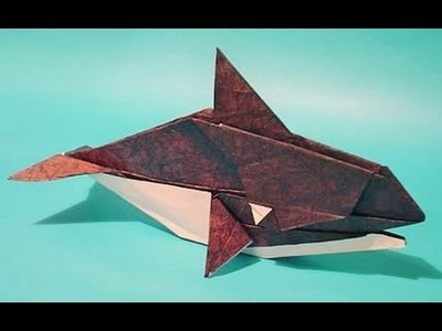 Origami Orca Instructiones - Como hacer animales origami