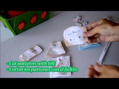 Parte 01 - Lista de materiales y como cortar los patrones