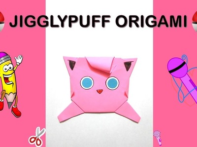 Pokemon Go Origami Jigglypuff Tutorial Diy Origami How