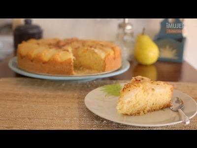 Receta de tarta de peras deliciosa