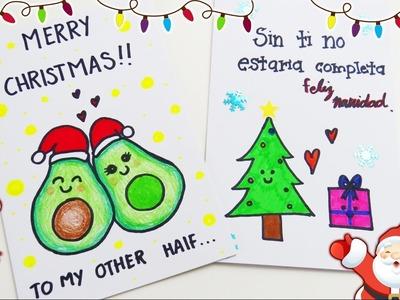 Tarjetas navideñas para novio de ultimo momento ♥♥ - mariana lugo