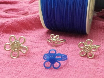 Como hacer anillos diseñar joyas y bisuteria fina