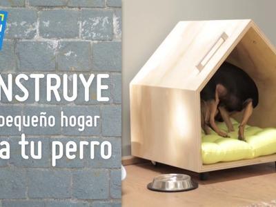 Construye un pequeño hogar para tu perro