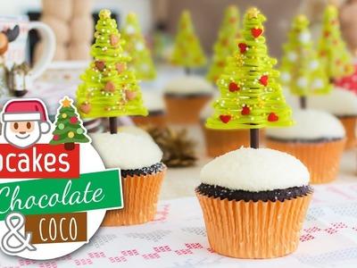 Cupcakes chocolate y coco | Especial Navidad | Quiero Cupcakes!