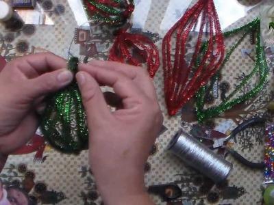 Esfera para pared y esfera para árbol de navidad