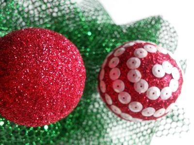 Esferas navideñas.christmas ornaments