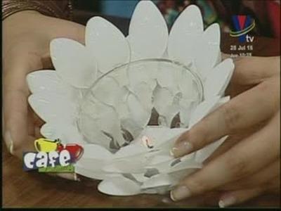 No te imaginas las genialidades que puedes fabricar con cucharas plásticas