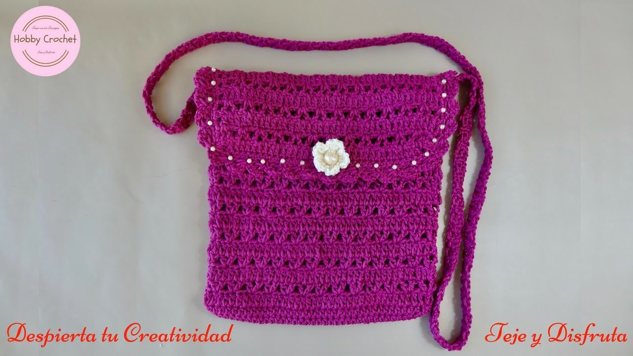 Bolso a crochet paso a paso my crafts and diy projects - Como hacer bolsos tejidos ...