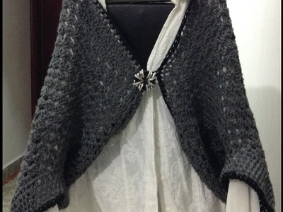 Chalina, Capa tejida a Crochet