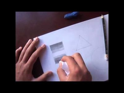 """Clases de dibujo """"luz y sombra 1"""""""
