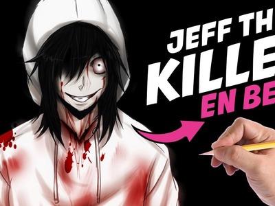 COMO DIBUJAR A JEFF THE KILLER EN BEBE PASO A PASO - Como seria Jeff the killer en bebe?