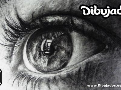 Como dibujar un ojo - Dibujando un ojo realista paso a paso - Dibujados