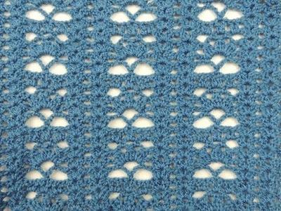 Crochet: Punto Combinado # 17
