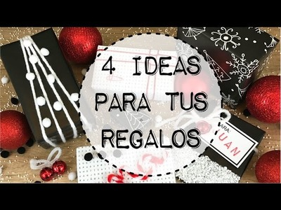 Decora tus regalos de Navidad - Wrapping Ideas for Christmas