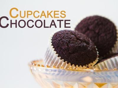 Deliciosos Cupcakes de Chocolate