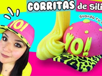 DIY ★ MINI GORRITAS de Silicón con SLIME DENTRO! ✔ ★ Así o más fácil ★