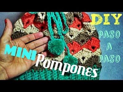 MINIPOMPONS!!!- Para Adornar tu Gorro