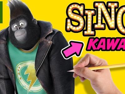 COMO DIBUJAR A JOHNNY DE SING: VEN Y CANTA KAWAII - Dibujos kawaii faciles