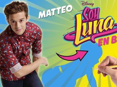 COMO DIBUJAR A MATTEO DE SOY LUNA EN BEBE - Como sería Matteo si fuera un bebe?