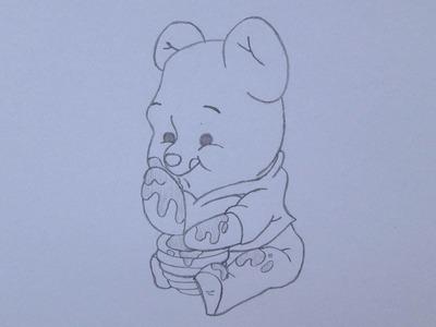 Cómo dibujar a Winnie the Pooh
