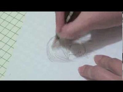 Como dibujar el cabello de los hombres