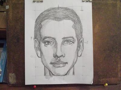 Cómo dibujar el rostro humano