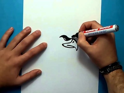 Como dibujar un aguila paso a paso 4 | How to draw an eagle 4