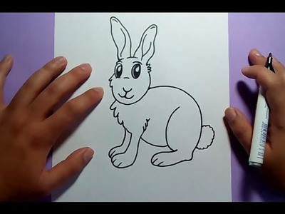 Como dibujar un conejo paso a paso 6 | How to draw a rabbit 6