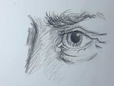 Como Dibujar un OJO realista paso a paso [El Dibujante]