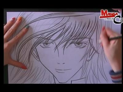 Como dibujar un rostro Manga (4 formas) How to draw Manga face (4 ways)