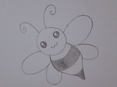 Cómo dibujar una abeja