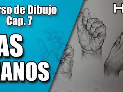 Curso de Dibujo a Lápiz Completo: Cómo Dibujar Manos Realistas a Lápiz Paso a Paso Cap. 7