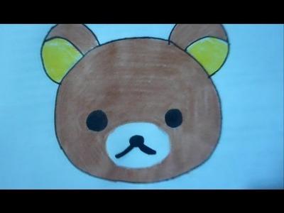 Dibuja a Rilakkuma ijaelachi Aprende a Dibujar Fácil kawaii