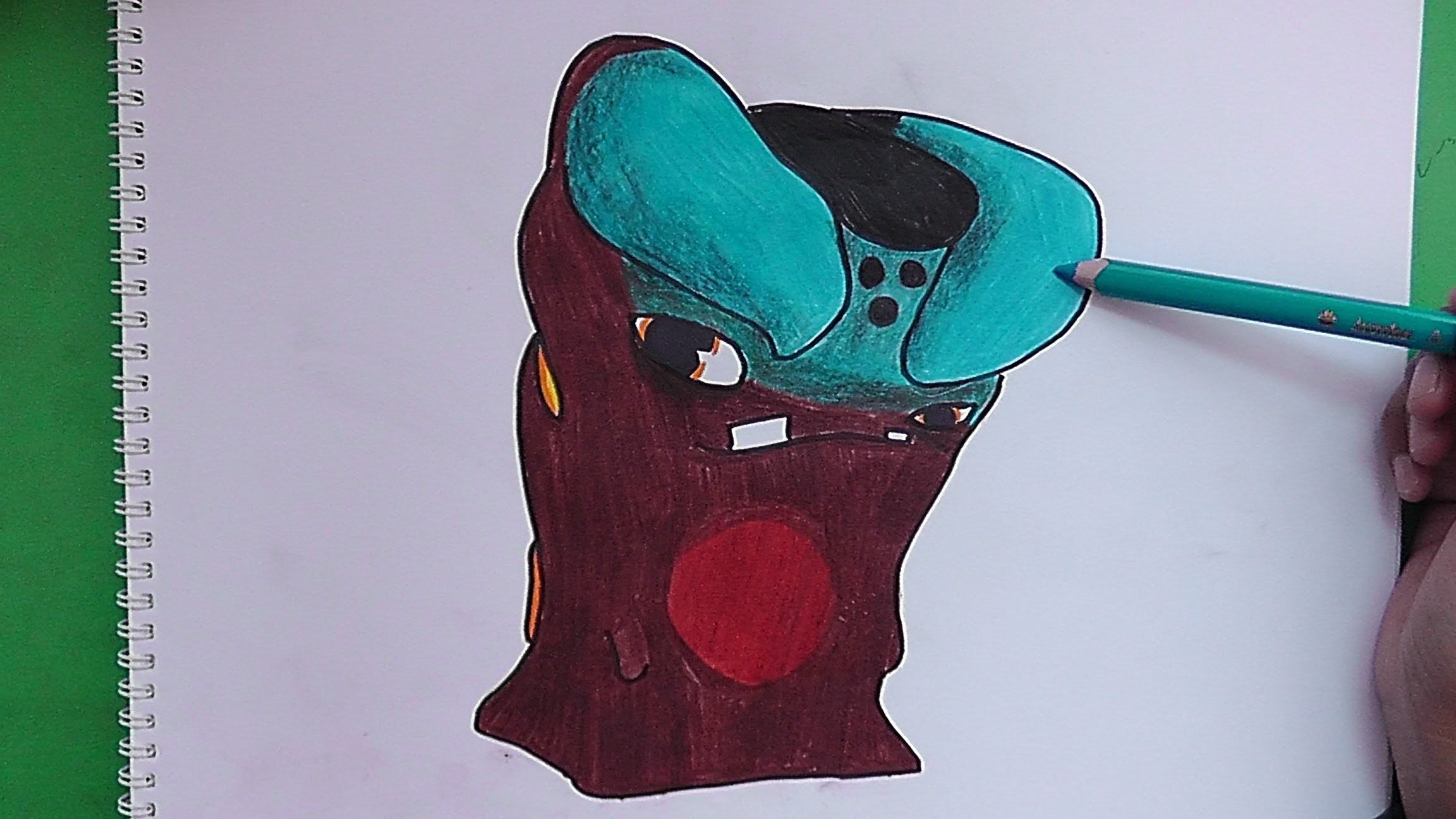 Dibujando Y Pintando A Fraguadora Bajoterra Drawing And Painting