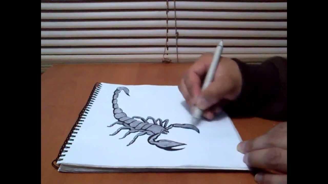 Dibujo A Lapiz 3d