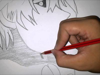 Dibujo rapido de kaneki - tokyo ghoul